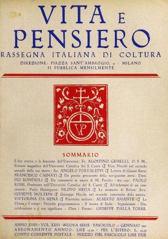 All'indomani di un centenario: Paolo Mantegazza