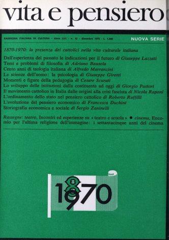 Cento anni di teologia italiana
