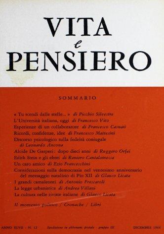 Considerazioni sulla democrazia nel ventesimo anniversario del messaggio natalizio di Pio XII