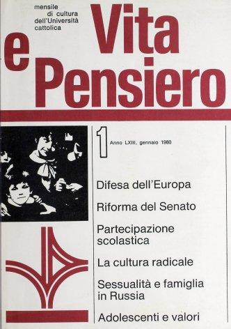 Cultura radicale e società italiana