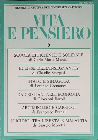 Eclisse dell'insegnante?