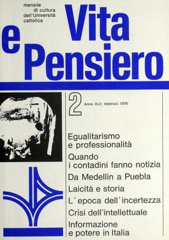 Egualitarismo e professionalità