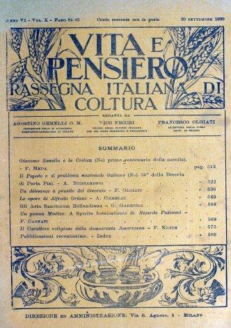 Giacomo Zanella  e la critica