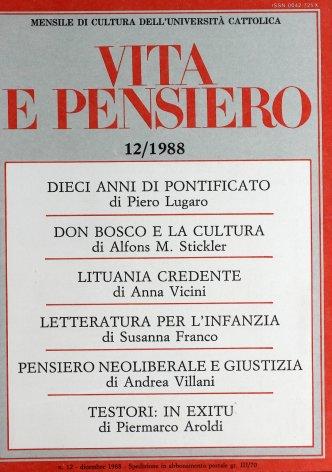 Giovanni Paolo II. Dieci anni di pontificato