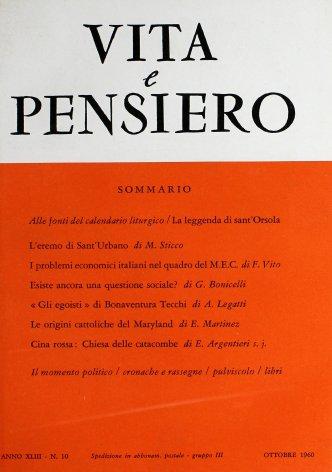 I problemi economici italiani nel quadro del M.E.C.