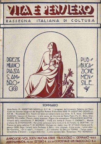 I progressi dell'università Cattolica del Sacro cuore nel discorso inaugurale del Magnifico Rettore: 8 dicembre 1932