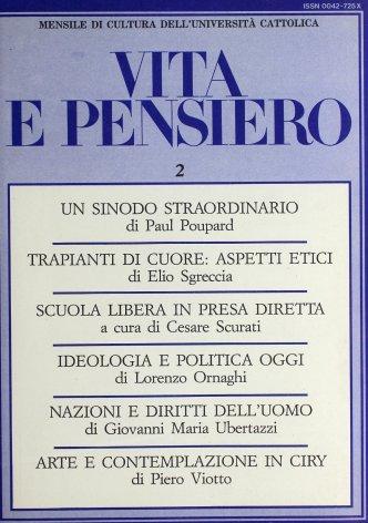 Ideologia e politica in alcune dottrine dei nostri giorni