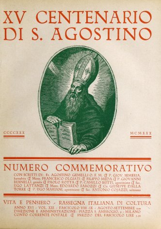 Il dramma del pensiero in S. Agostino