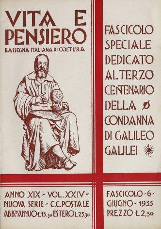 Il monumento di Galileo a Pisa e il Card. Maffi