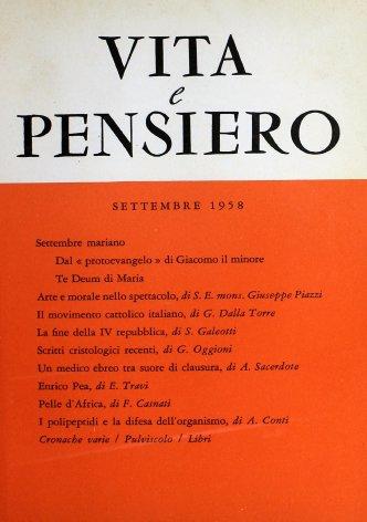 Il movimento cattolico italiano