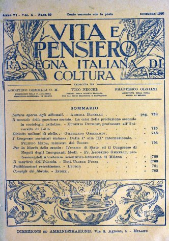 Il nocciolo della questione sociale: la crisi della produzione secondo la sociologia cattolica