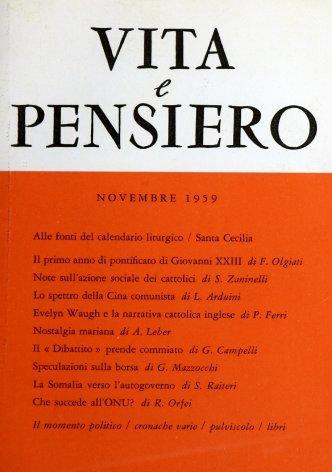 Il primo anno di pontificato di Giovanni XXIII