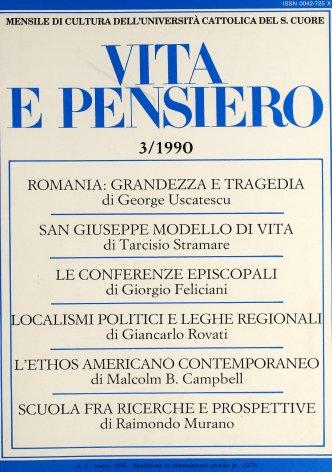 Il revival dei localismi politici e le leghe regionali: alcune questioni aperte