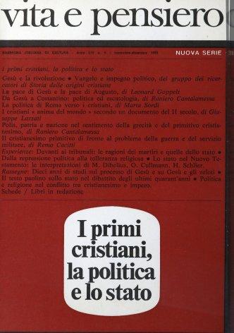 Il testo paolino sullo stato nel dibattito degli ultimi quarant'anni