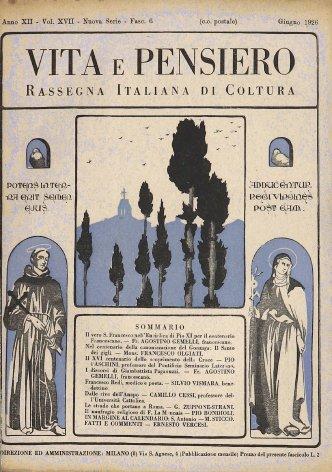 Il vero S. Francesco nell'Enciclica di Pio XI per il centenario francescano