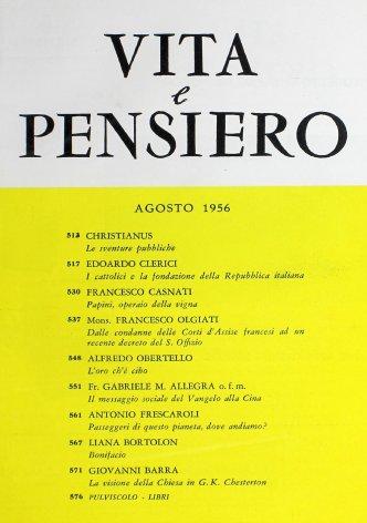 l cattolici e la fondazione della Repubblica italiana