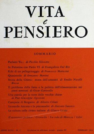 La cultura nelle riviste italiane