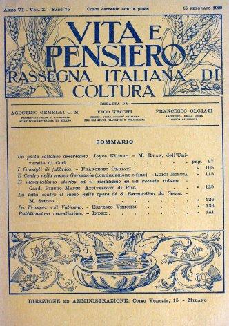 La lotta contro il lusso nelle opere di S. Bernardino da Siena
