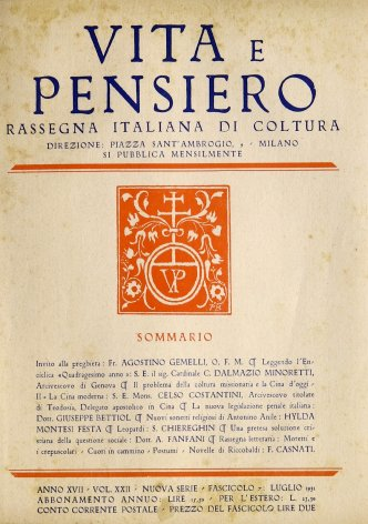 La nuova legislazione penale italiana
