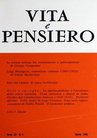 La società italiana fra contestazione e partecipazione