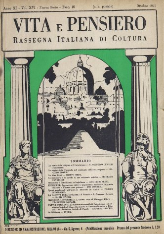 La storia delle religioni e il Cattolicismo