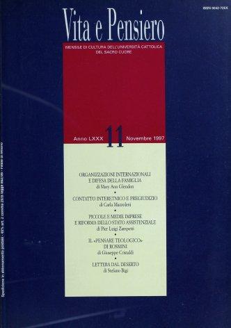 Le organizzazioni internazionali e la difesa della famiglia