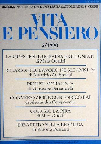 Le relazioni di lavoro negli anni '90