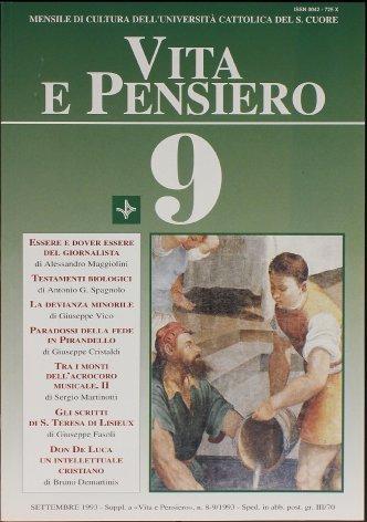 L'edizione critica di tutti gli scritti di santa Teresa del Bambin Gesù