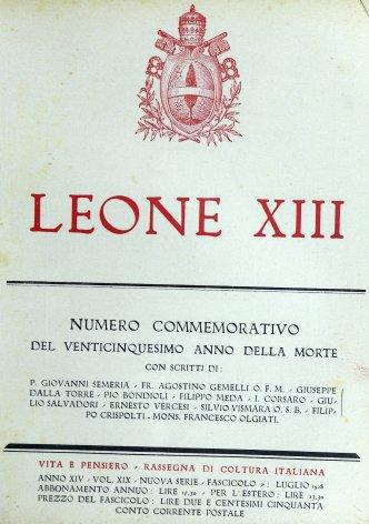 Leone XIII e l'azione cattolica