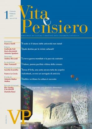 VITA E PENSIERO - 2015 - 1