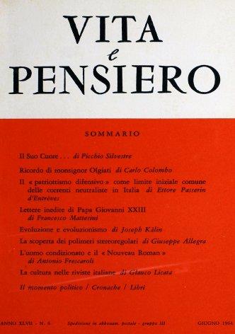 Lettere inedite di Papa Giovanni XXIII