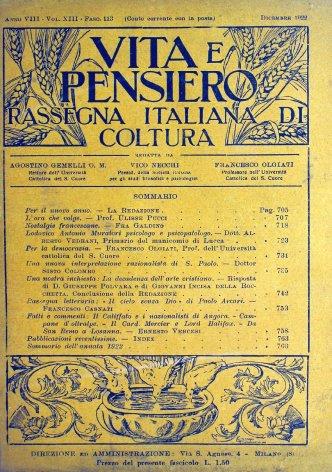 Lodovico Antonio Muratori psicologo e psicopatologo