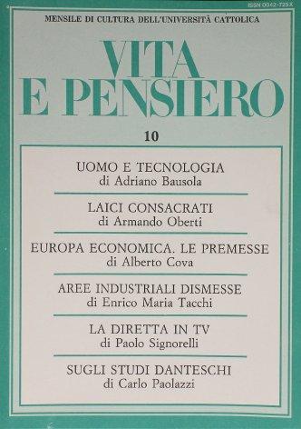 L'unificazione economica dell'Europa: le premesse (1949-1957)