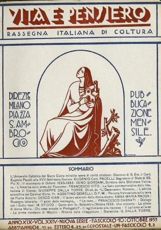 L'Università Cattolica del Sacro Cuore mirabile opera di carità cristiana. Discorso di S. Em. il Card.  Eugenio Pacelli alla XVII Settimana Sociale