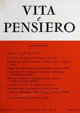 Pagine verdi sulla poesia di A. Palazzeschi
