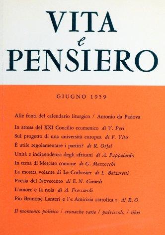 Pio Brunone Lanteri e l'«Amicizia cattolica»