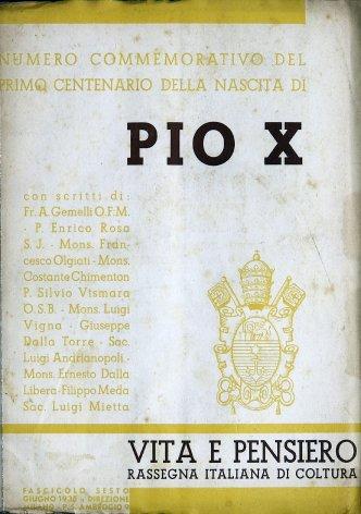 Pio X e la cultura