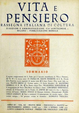 Pio XI e la musica sacra