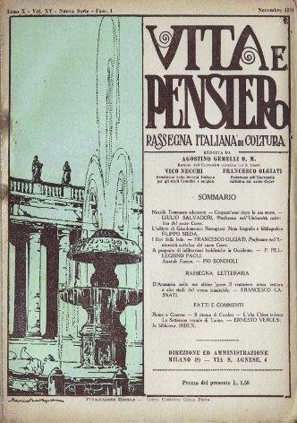 Rassegna letteraria: D'Annunzio nelle sue ultime prose (Il venturiero senza ventura e altri stsudii del vivere inimitabile).