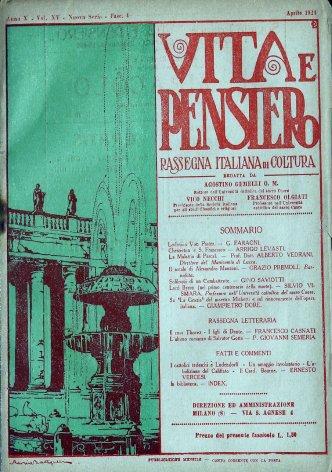 Rassegna letteraria: Il caso Thovez - I figli di Dante.