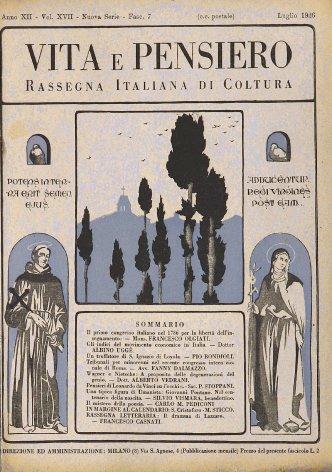 Rassegna letteraria: Il dramma di Lazzaro