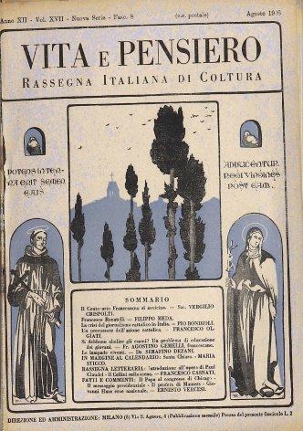 Rassegna letteraria: Introduzione all'opera di Paul Claudel - Il Cellini sulla scena