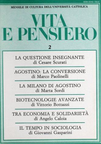 S. Agostino e l'itinerario della conversione