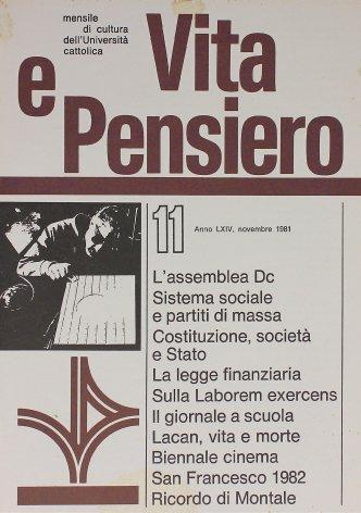 San Francesco 1982
