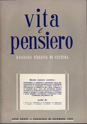 Sommario dell'annata 1953