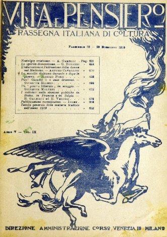 Tavola generale delle materie trattate nell'anno 1919