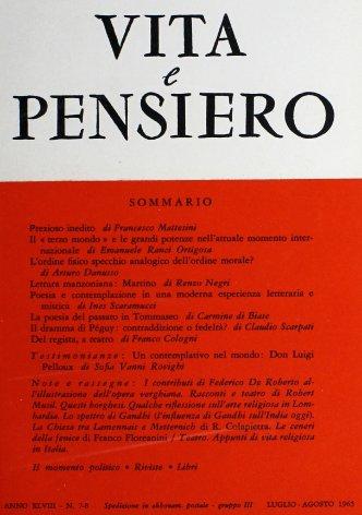 Un contemplativo nel mondo: Don Luigi Pelloux