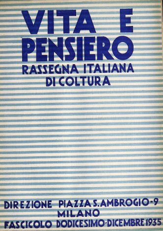 Un giro per l'esposizione della stampa cattolica nella pianta di Gio. Ponti.