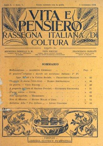 VITA E PENSIERO - 1914 - 1