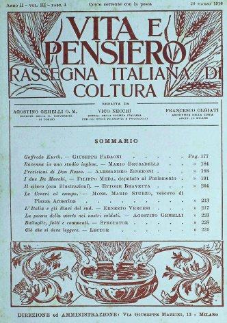 VITA E PENSIERO - 1916 - 3